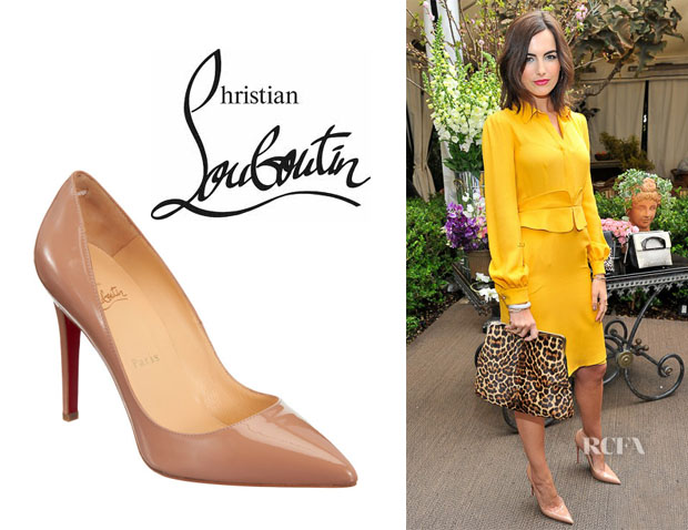 Camilla Belle's Christian Louboutin 'Pigalle' Pumps