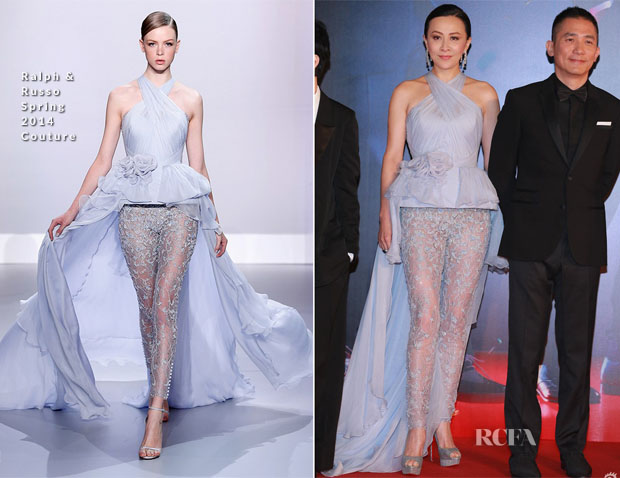 Carina Lau In Ralph & Russo Couture - 33rd Hong Kong Film Awards
