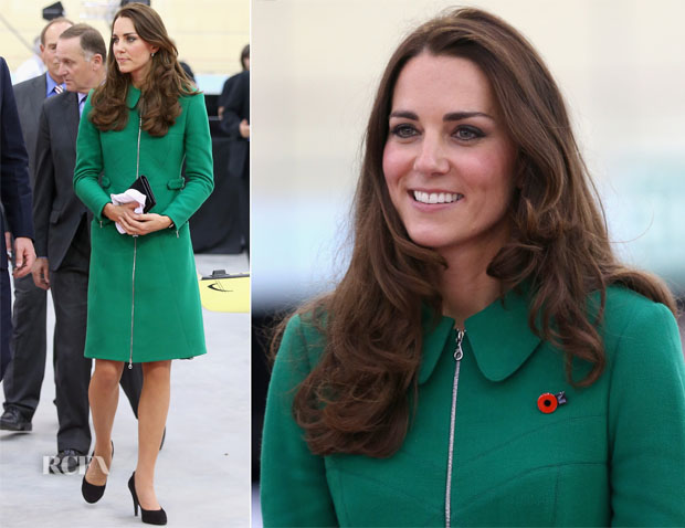 Catherine, Duchess of Cambridge In Erdem - Rainbow Place Children's Hospice Visit