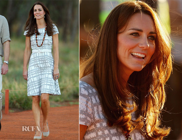 Catherine, Duchess of Cambridge In Hobbs - Uluru