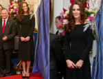 Catherine, Duchess of Cambridge In Jenny Packham - State Reception