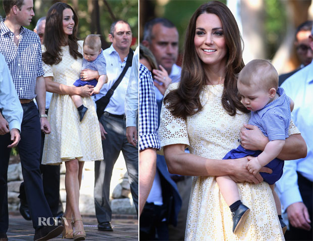 Catherine, Duchess of Cambridge In Rebecca English - Taronga Zoo