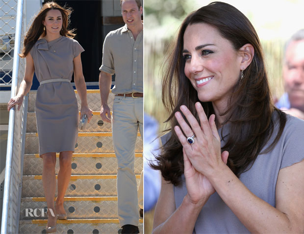 Catherine, Duchess of Cambridge In Roksanda Ilincic - Ayers Rock