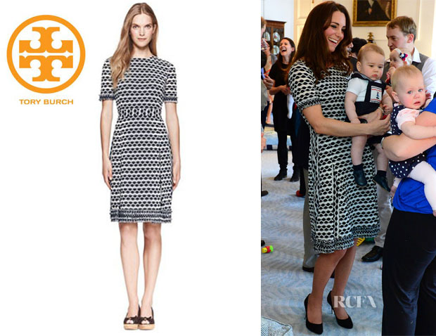 Catherine, Duchess of Cambridge's Tory Burch 'Paulina' Dress
