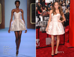 Chrissy Teigen In Ulyana Sergeenko Couture - MTV Movie Awards 2014