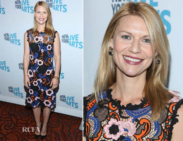 Claire Danes In Prada - 2014 New York Live Arts Gala