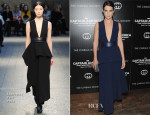 Cobie Smulders In Sportmax - 'Captain America: The Winter Soldier' New York Screening