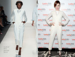 Coco Rocha In Rachel Zoe - Lucky FABB: Fashion and Beauty Blog Conference