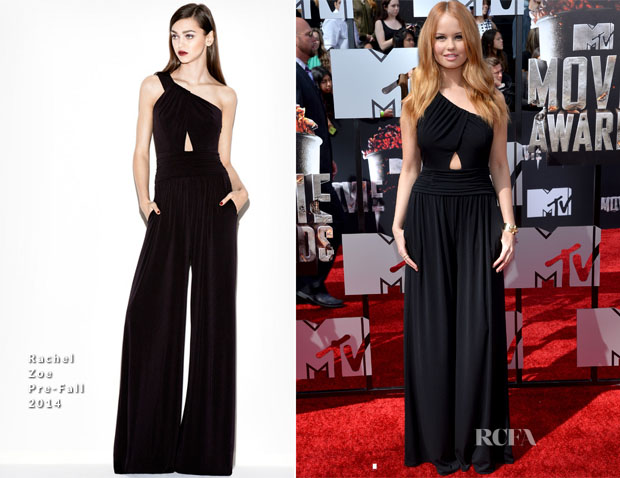 Debby Ryan In Rachel Zoe - MTV Movie Awards 2014