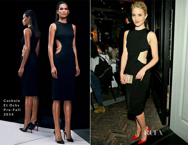 Dianna Agron In Cushnie et Ochs - Vogue Celebrates Jean Stories
