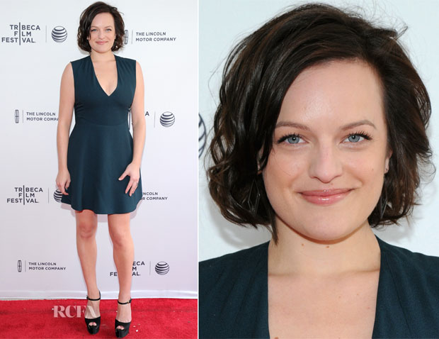 Elisabeth Moss In Balenciaga - The One I Love' Tribeca Film Festival Premiere