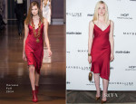 Elle Fanning In Versace - Marie Claire Celebrates May Cover Stars