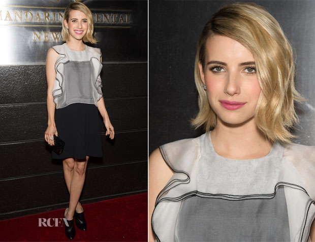 Emma Roberts In Chloé - New Yorkers For Children's 11th Anniversary A Fool's Fete
