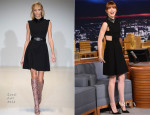 Emma Stone In Gucci - The Tonight Show Starring Jimmy Fallon