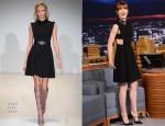 Emma Stone In Gucci - The Tonight Show Starring Jimmy Fallon