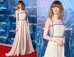 Emma Stone In Prada - 'The Amazing Spider-Man 2: Rise Of Electro' New York Premiere