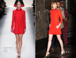 Emma Stone In Valentino - Empire State Building Visit