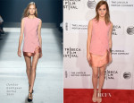 Emma Watson In Narciso Rodriguez -  'Boulevard' Tribeca Film Festival Premiere
