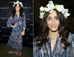 Emmy Rossum  In H&M - Alexander Wang X H&M Coachella Party