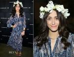 Emmy Rossum  In H&M - Alexander Wang X H&M Coachella Party