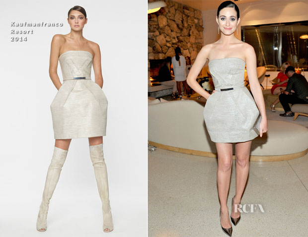 Emmy Rossum In Kaufmanfranco - Jimmy Choo's CHOO