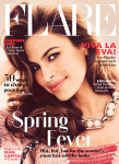 Eva Mendes For Flare Magazine May 2014