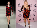 Fergie In Saint Laurent - Brown Shoe Company Celebrates 100 Years on New York Stock Exchange