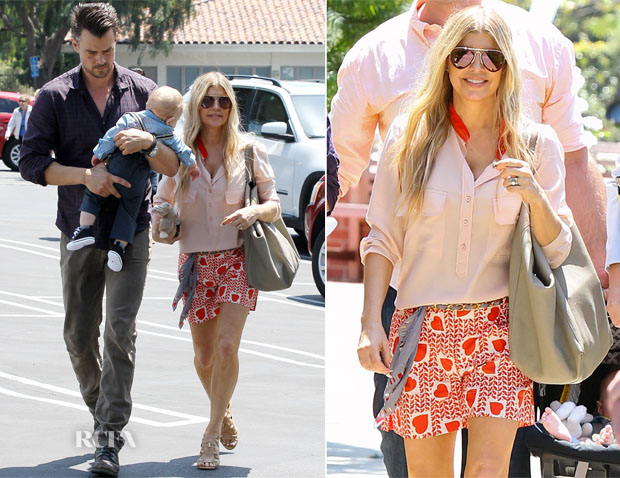 Fergie In Stella McCartney - Easter Sunday