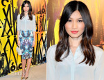 Gemma Chan In Topshop - Jimmy Choo's CHOO.08˚Launch