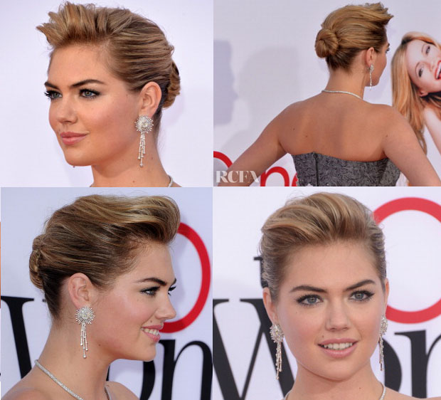 Get The Look Kate Upton's 'The Other Woman' Premiere Polished Updo