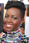 Get The Look: Lupita Nyong'o' MTV Movie Awards Disco-Inspired Eyes