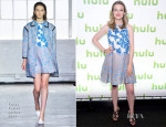 Gillian Jacobs In Tanya Taylor - Hulu's Upfront Presentation