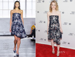 Gillian Jacobs  In Tanya Taylor - 'Life Partners' Tribeca Film Festival Screening