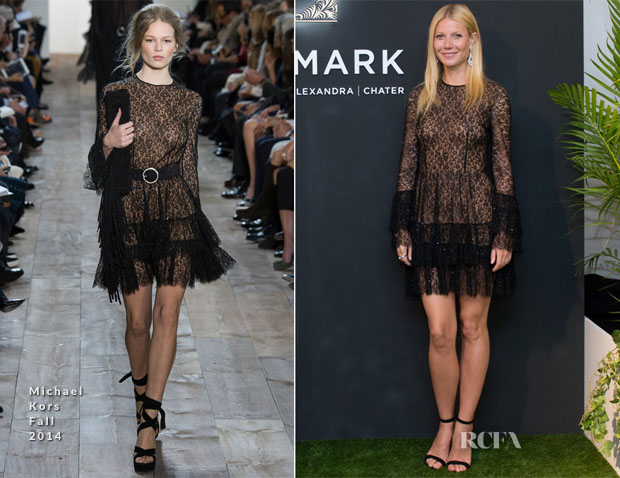 Gwyneth Paltrow In Michael Kors - Goopcom Hong Kong Event