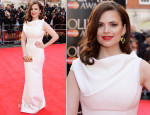 Hayley Atwell In Dsquared² - Laurence Olivier Awards 2014