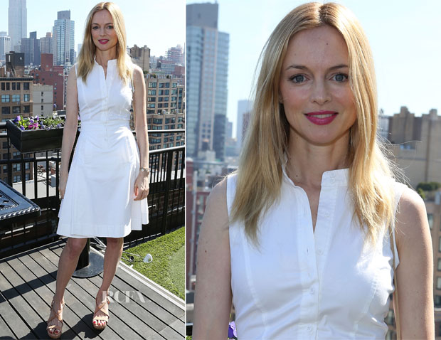 Heather Graham In Philosophy - Women's Filmmaker Brunch