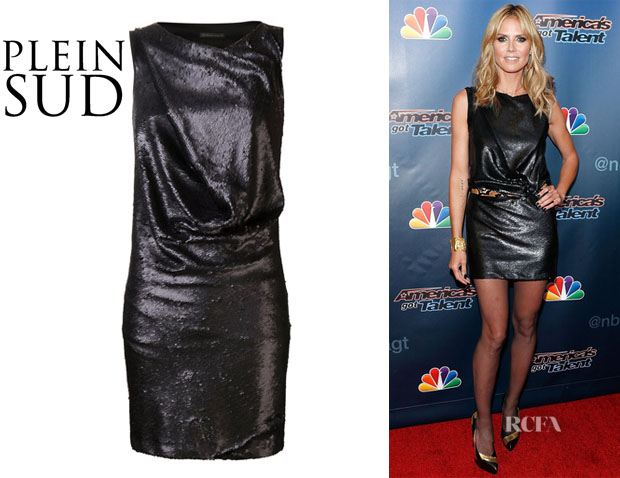 Heidi Klum's Plein Sud fitted Round Neck Dress