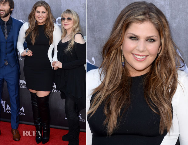 Hillary Scott In Stella McCartney - ACM Awards 2014