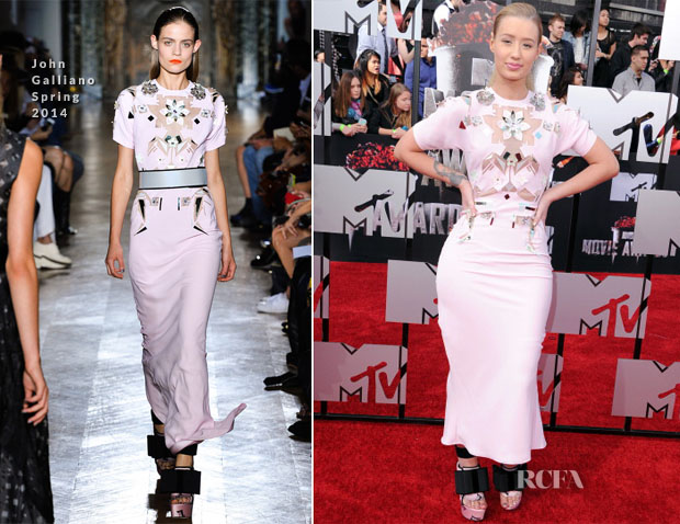 Iggy Azalea In John Galliano - MTV Movie Awards 2014