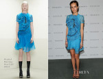 Isabel Lucas In Prabal Gurung - 'Engram' New York Screening