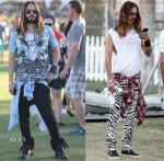 Jared Leto's Coachella 2014 Style