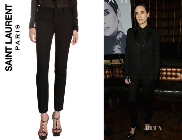 Jennifer Connelly's Saint Laurent Slim Trousers
