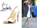Jennifer Garner's Christian Louboutin 'Air Chance' Slingback Pumps