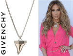 Jennifer Lopez' Givenchy Shark Tooth Necklace