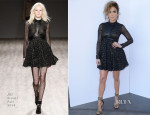 Jennifer Lopez In Jill Stuart - American Idol Season 13: Top 7 To 6′ Live Show