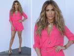 Jennifer Lopez In Kohls - 'American Idol Season 13: Top 8 To 7′ Live Show