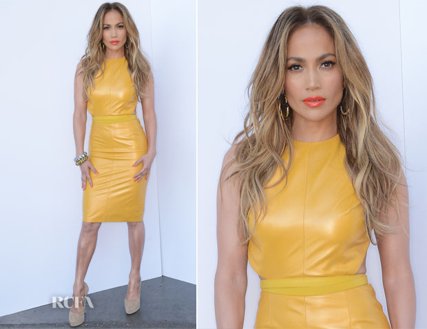 Jennifer Lopez In Phillip Armstrong - 'American Idol Season 13 Top 6 To 5′ Live Show