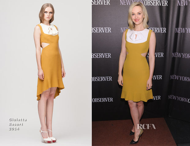 Jess Weixler In Giuletta -  The New York Observer Relaunch Event