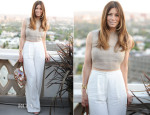 Jessica Biel In Vionnet - Tiffany & Co. The Atlas Collection Celebration