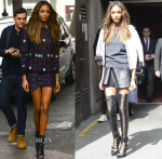 Jourdan Dunn In Mary Katrantzou & Louis Vuitton - Vogue Festival 2014